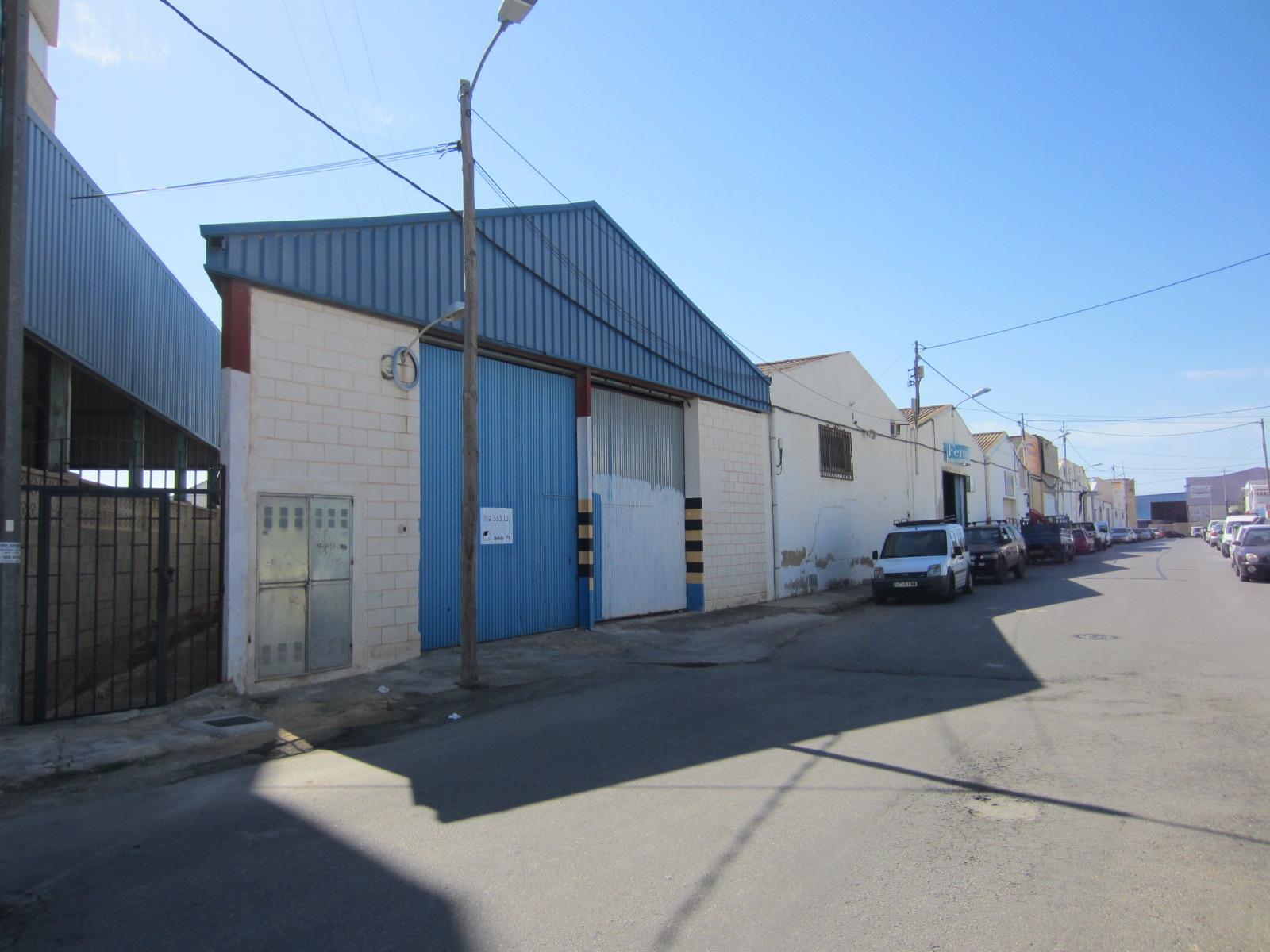 Nave Industrial en Villajoyosa