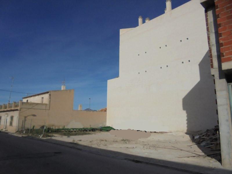 Solares en Abanilla (Barrio de los Angeles) - foto1